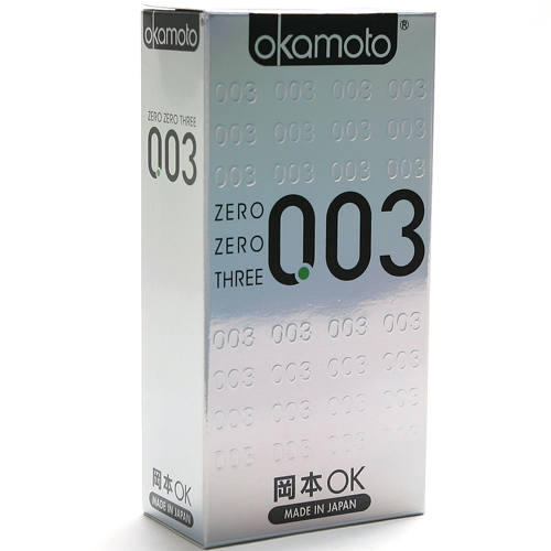 Okamoto 003 Condom Standard All From Japan