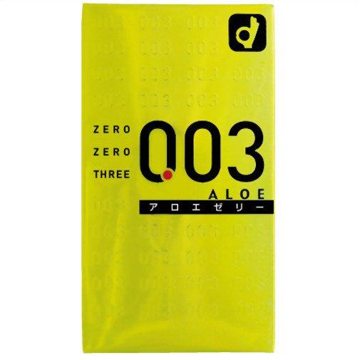 Okamoto 003 Aloe Jelly Condom All From Japan