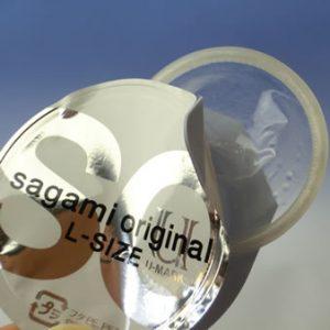 Sagami Original 0.02 Condom Large 12 pcs