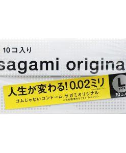 Sagami Original 0.02 Condom Large 10 pcs