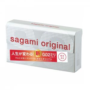 Sagami Original 0.02 Condom 6pcs