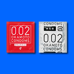 Okamoto 0.02 Grand Fit Condoms 6pcs Looser Top Edge