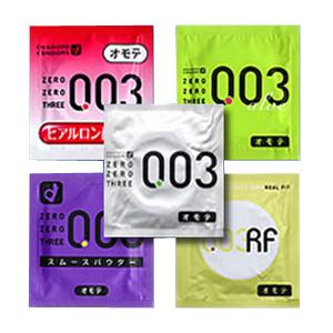 Okamoto 003 Assorted Pack