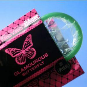 Glamorous Butterfly Moist Type 12pcs
