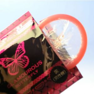 Glamorous Butterfly Hot Condom 12pcs