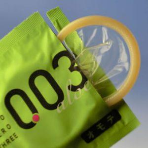 Okamoto 003 Aloe Jelly Condom 10pcs