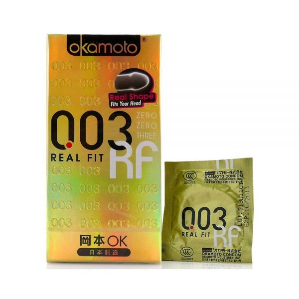 Okamoto 003 Real Fit Condom All From Japan