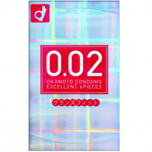 Okamoto 0.02 Grand Fit Condoms 6pcs Looser Top Edge