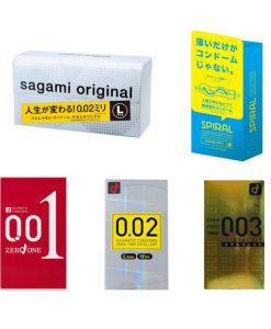 Top 5 Japanese Condom Value Pack Large