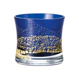 Edo Glass Blue On the Rocks