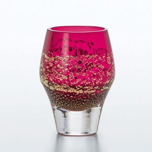 Edo Glass Red Tumbler