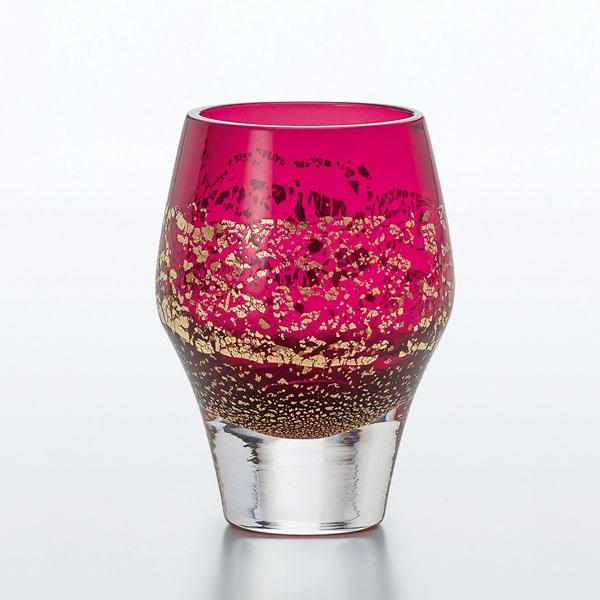 Edo Glass Red Tumbler