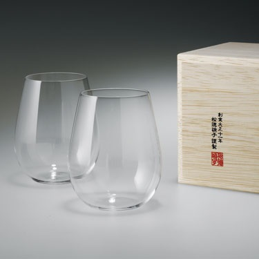 Usuhari Wine Glass Bordeaux 2pc
