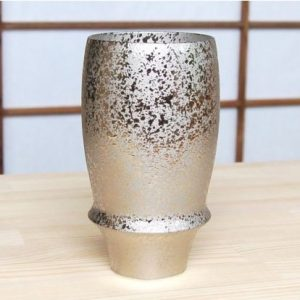 Premium Beer Glass Silver