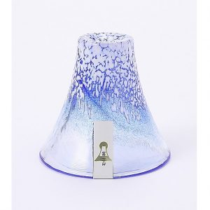 Mt. Fuji Glass Tumbler BLUE