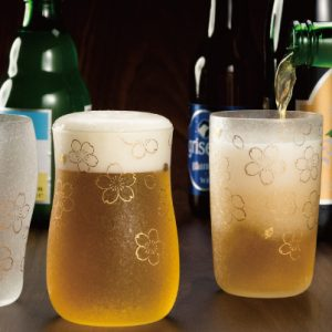 Premium Craft Beer Glass Set Sakura