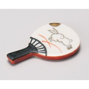 Chopstick Rest Uchiwa Fan