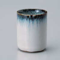 Blue Mist Yunomi Japanese Tea Cup