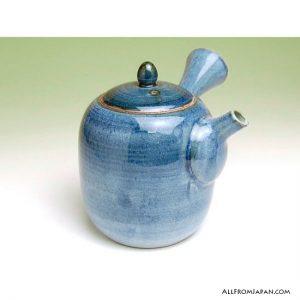 Navy Ai Kyusu Tea Pot