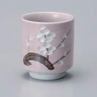 Sakura Pink Yunomi Japanese Tea Cup