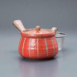 Hori Togusa Kyusu Tea Pot Red L