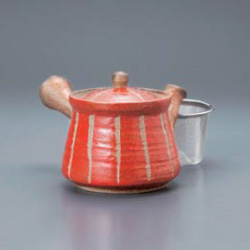 Hori Togusa Kyusu Tea Pot Red S