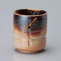 Old Shigaraki Yunomi Japanese Tea Cup