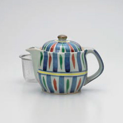 Akae Tokusa Green Tea Pot