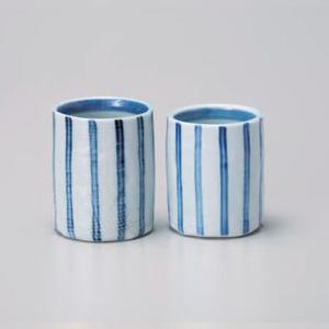 Dami Tokusa Pair Yunomi Tea Cup