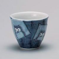 Gosu Owl Yunomi Japanese Tea Cup