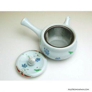 Flower Rabbit Kyusu Tea Pot