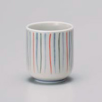 Colorful Tokusa Yunomi Japanese Tea Cup