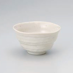 White Iga Japanese Tea Set