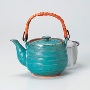 Turkey Blue Japanese Tea Set
