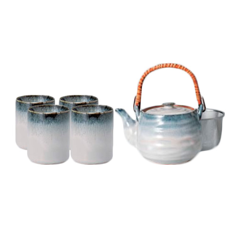Blue Mist Japanese Tea Set