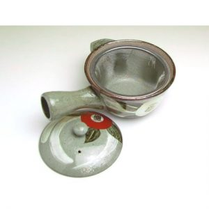 Camelia Kyusu Tea Pot
