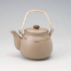 Charcoal Dot Dobin Tea Pot