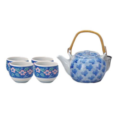 Dami Hanazono Japanese Tea Set