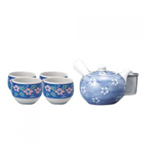 Dami Ume Japanese Tea Set