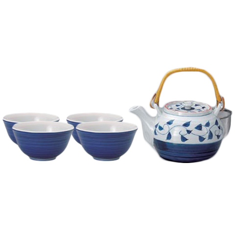 Gosu Karakusa Japanese Tea Set