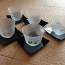 Edo Yuzen Cold Japanese Tea Cup Set