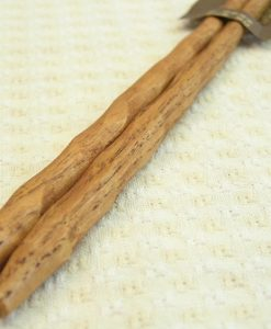 Chestnut Wood Chopsticks Sculpture