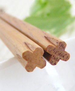 Chestnut Wood Chopsticks Clover