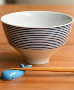 Whale Chopstick Rest White