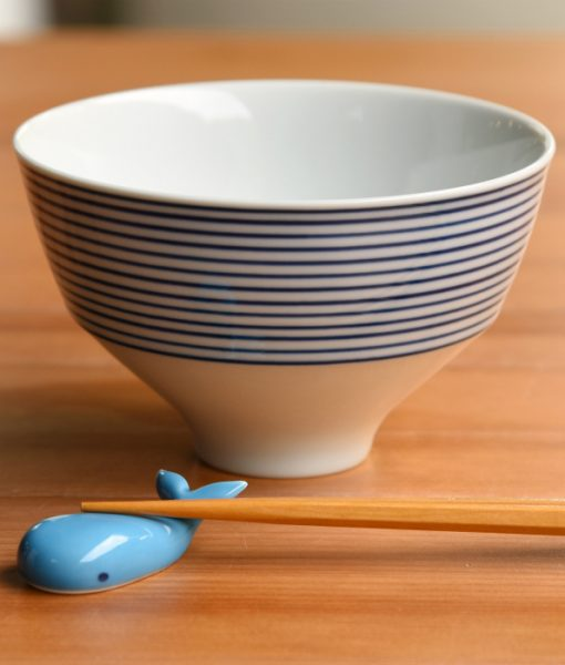 Whale Chopstick Rest White