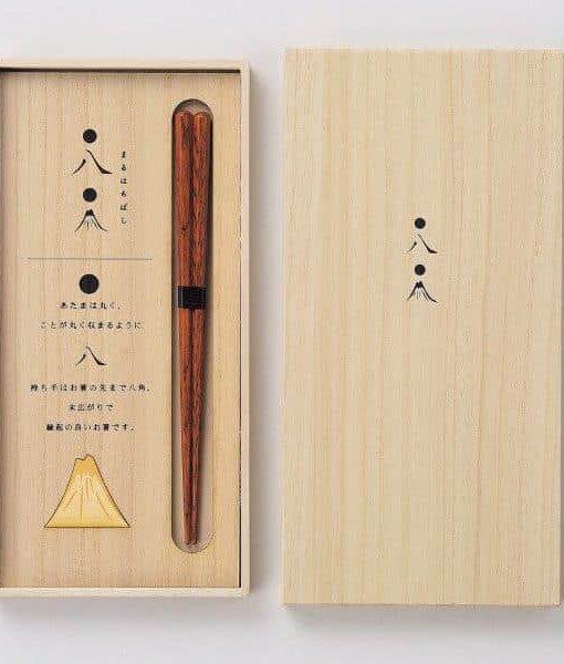 Natural Wood Chopsticks Gift Set Mt. Fuji