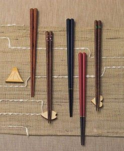 Natural Wood Chopsticks Couple Gift