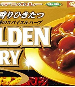 S&B Premium Golden Curry Medium Hot 160g