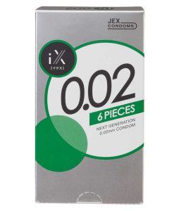 iX 0.02 condom 6pcs or 12pcs