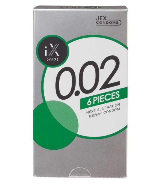 iX 0.02 condom 6pcs or 12pcs